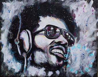 Stevie Wonder (Print)