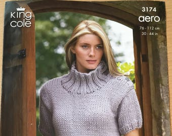 6beda2ecd Ladies Chunky Sweaters Knitting Pattern