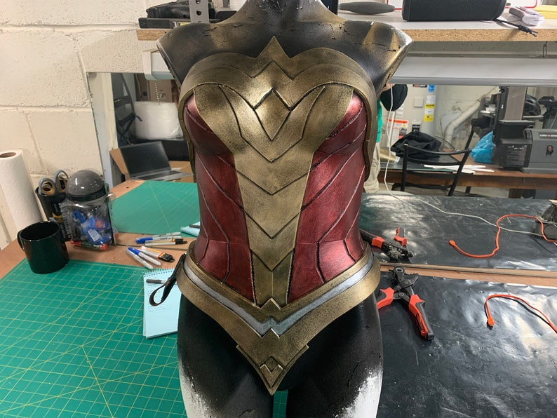 Warrior Corset with Skirt