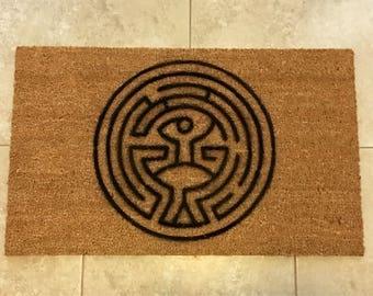 The Maze (Westworld) Inspired Decorative Doormat