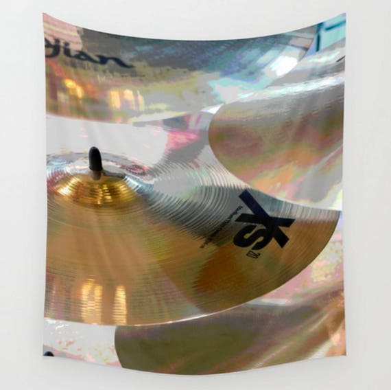 Drum Cymbal Pillow Cover Housewarming