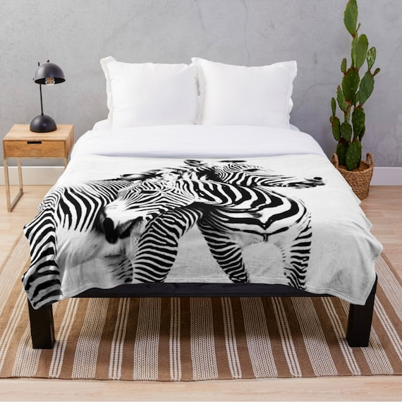 Swell Zebra Blanket Bedroom Decor Black And White Blanket Sofa Throw Blanket Zebra Print Decor Zebra Fleece Blanket Large Decorative Blanket Gmtry Best Dining Table And Chair Ideas Images Gmtryco