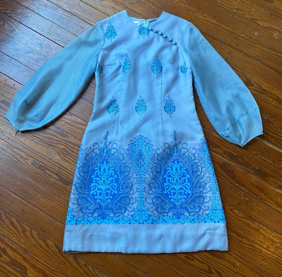 1970's Alfred Shaheen dress - image 7
