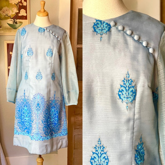 1970's Alfred Shaheen dress