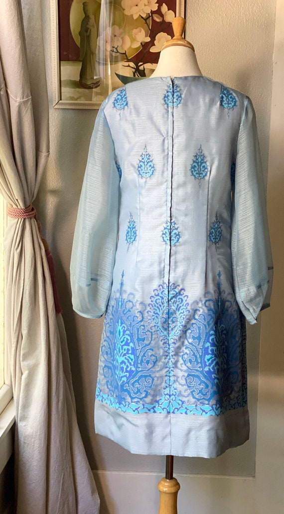 1970's Alfred Shaheen dress - image 5