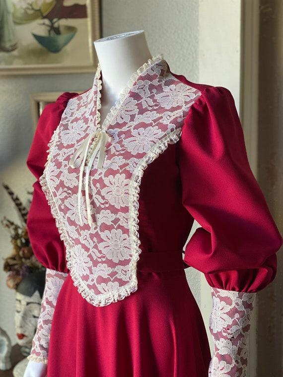 1970's Gunne Sax Style Renaissance dress - image 5