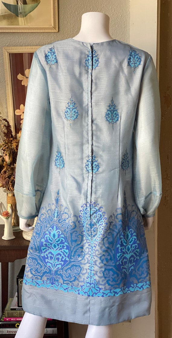 Vintage 1970's Alfred Shaheen dress - image 6