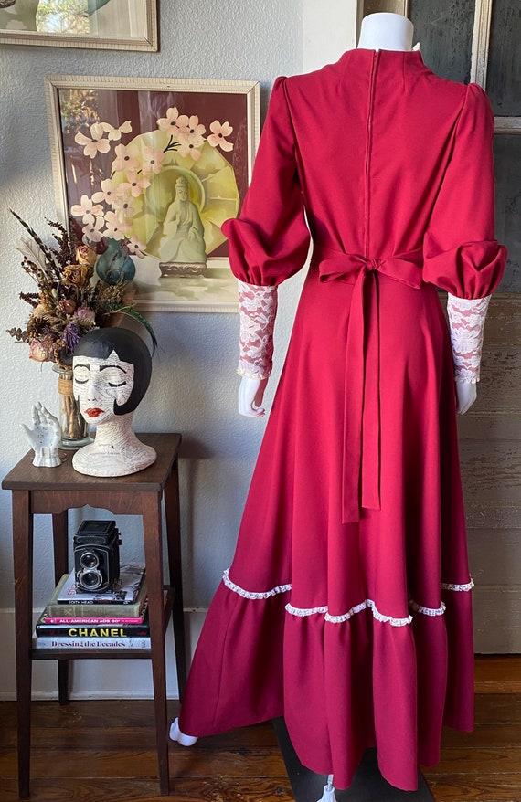 1970's Gunne Sax Style Renaissance dress - image 6