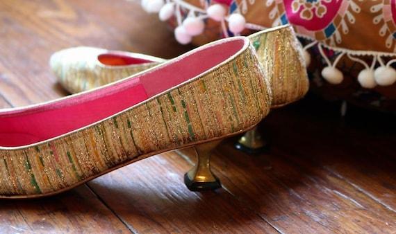 1960's Tajerie  kitten heels - image 2