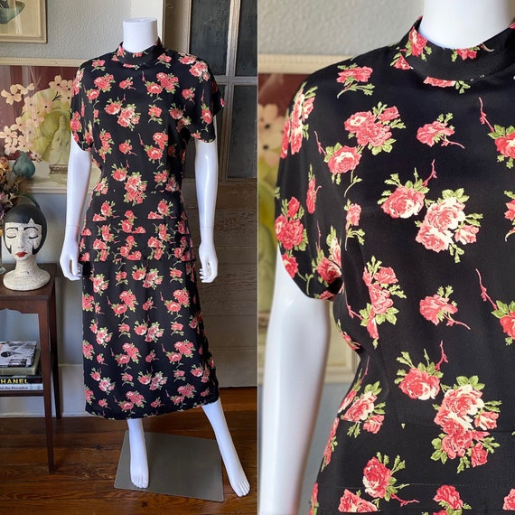 1980's does 40's dress by John Roberts