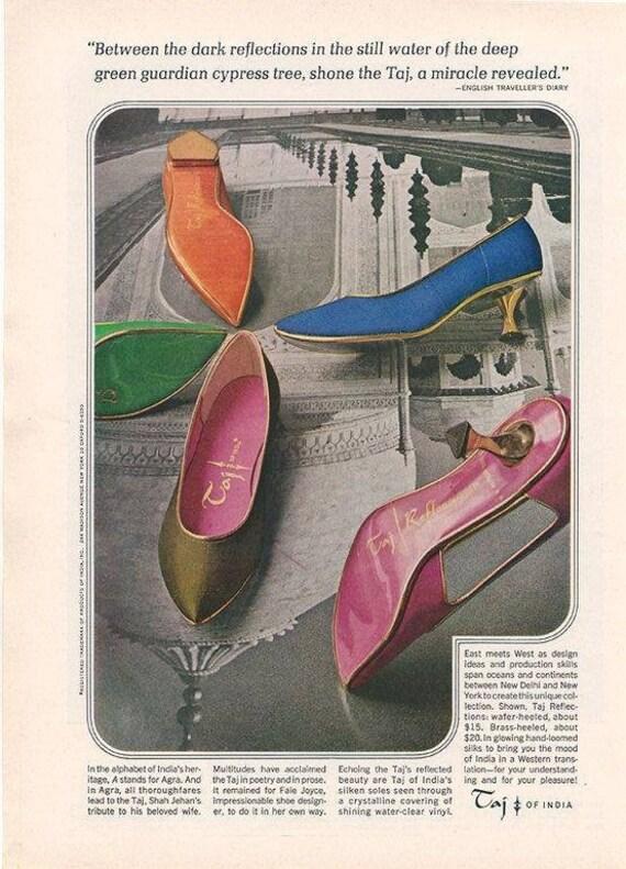 1960's Tajerie  kitten heels - image 9