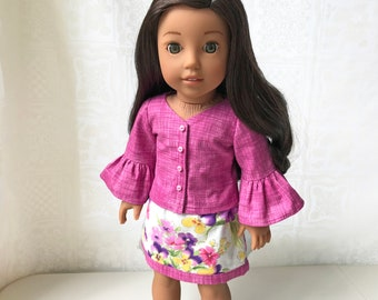 """Cat Mermaids Dress for 18/"""" American Girl Doll Clothes Purrmaids"""