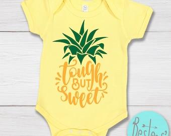Tough But Sweet Pineapple Infant Bodysuit