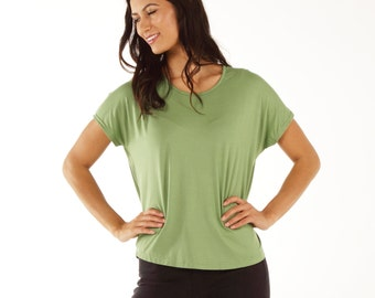 Women's Bamboo Shirt - Relaxed Batwing Fit