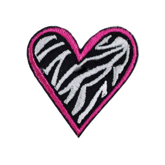 """Small 1.5/""""W Iron On Applique Patch /""""Love/"""" Text Embroidered Yellow Heart"""