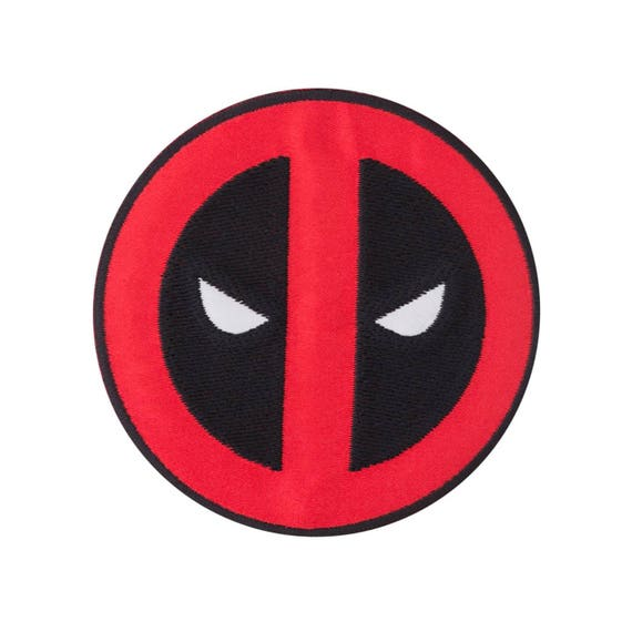 """Deadpool Face Embroidered 3.5/"""" Premium Quality Patch"""