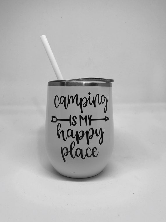 camping cup, camping trip wine, camping wine glass, glamping gear, glamping wine cup, wine tumbler, with lid and straw, best