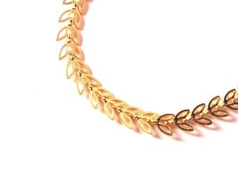 Gold woman's bracelet - bracelet overlay juxtaposition bracelets - fancy bohemian bracelet