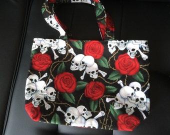 Skull & Roses hand bag