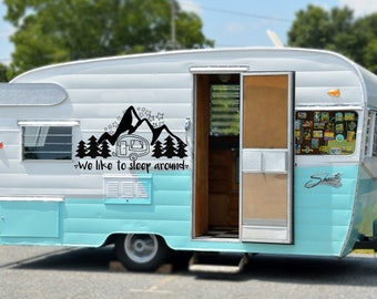 RV and Camper Decals