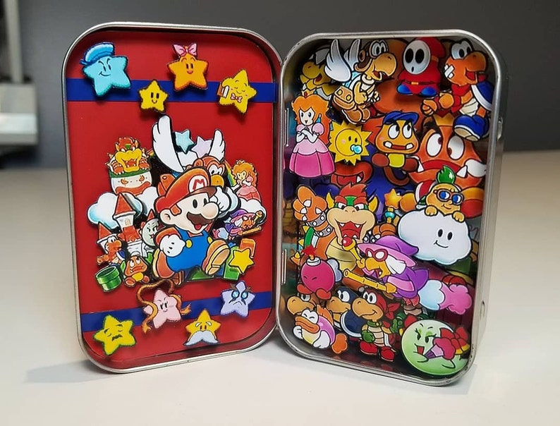 Paper Mario 64 Altoid Box