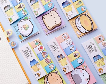 Memo Pads Notebooks & Writing Pads Cute Animal Bookmark Notebooks Writing Memo Pad Office School Supplies Scrapbook Stickers Kids Stationery Note Page Flags Gift Easy To Lubricate