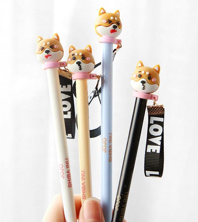 Shiba Inu Stifte süße Shiba Inu Stift-Set Akita Inu Stifte | Etsy