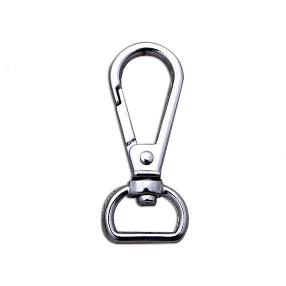 """20Pcs 42mm//1.68/"""" Length Alloy Swivel Clasp Hook for purse hardware making"""