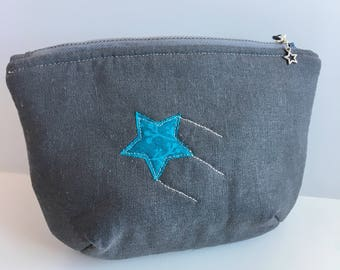 Shooting star notions pouch