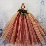 Elegant Burgundy and Gold Tutu Dress, Flower Girl Dress, Baby First Birthday, Rustic Wedding, Girls Christmas Dress, Birthday Tutu