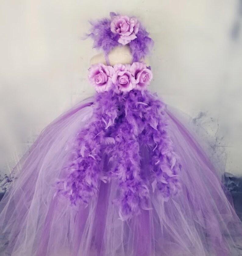 1fa3afee Baby First Birthday Dress Girl First Birthday Tutu Purple | Etsy