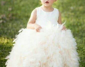 Flower girl dress, pageant dress,baby girl,baby tutu,christening dress,toddler pageant dress,toddler flower girl dress, baptism dress,baby