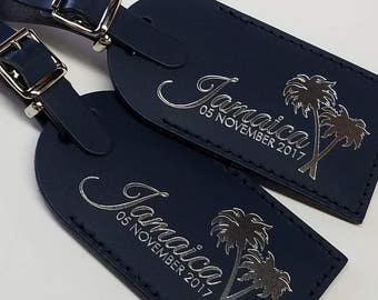 CUSTOM Luggage Tag Wedding Favors, Party Favors, Shower Favors, Birthday Favors, BULK, Made in the USA @CurrysLeather