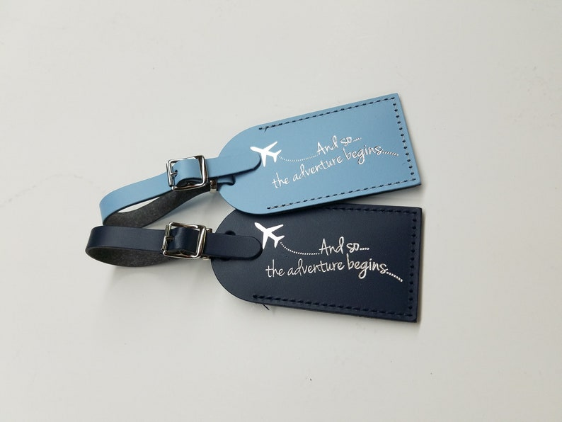 And so the adventure begins Luggage Tag Gifts  Traveler  image 0
