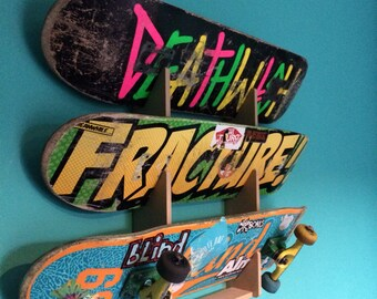 Skateboard rack. Holds up to 3 boards. 3c5e514eff0