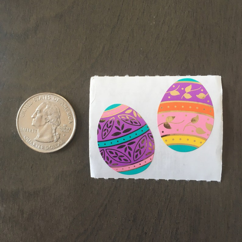 Mrs Grossman EASTER EGGS SMALL Stickers EASTER