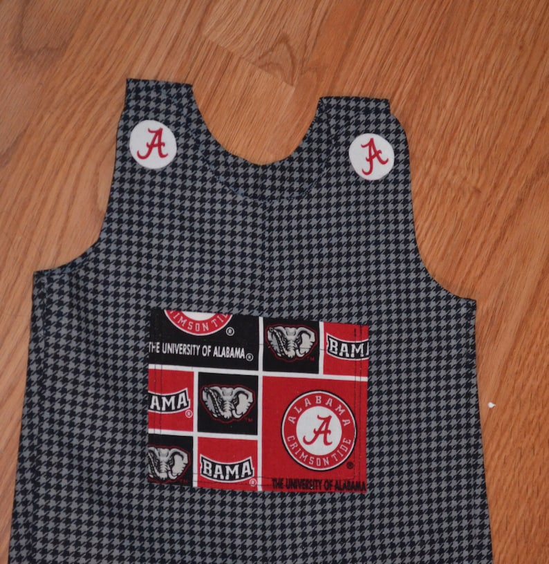 Unversity College Print 100/% Cotton Jon Jon Suit Sizes 3-6m 6-12m 12-18m 18-24m *All Handmade in USA*