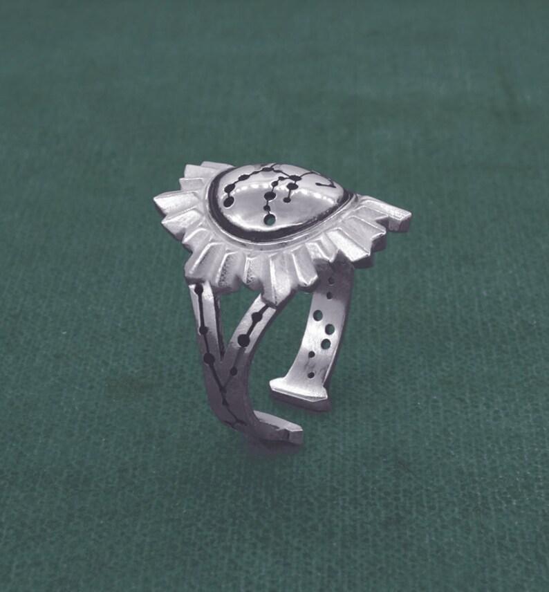 Ring Pegasus horse of Greek mythology astrology jewelry image 0