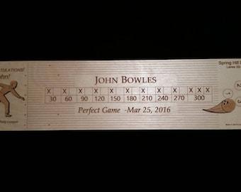 Custom Series Bowling Awards