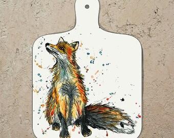 Small Fox Chopping Board