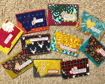 10 Quilted Montana Postcards