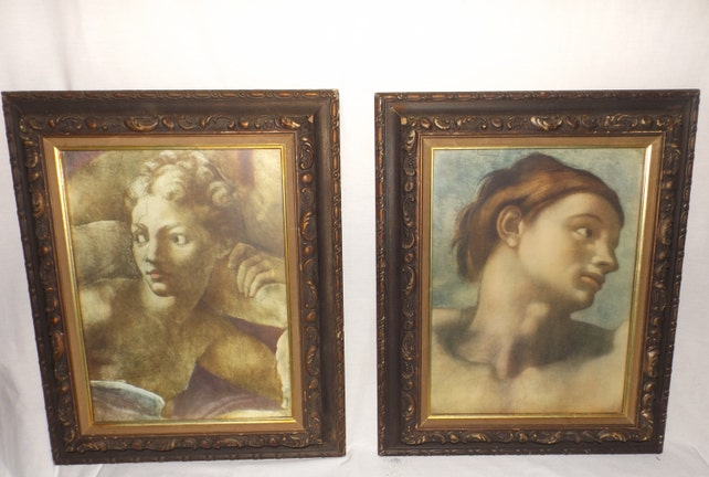 Turner Wall Art ornate framed printsVictorian portraitWall | Etsy