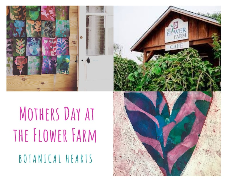 Mothers Day at the Flower Farm  Botanical Hearts image 0