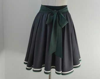 8b9bf113f462f Slytherin Inspired Skirt