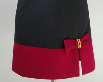 Gryffindor Inspired Skirt