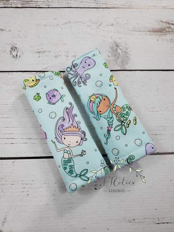 Baby Car Seat Strap Cover Mermaid Neck Stroller
