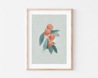 Oranges – A3 Print