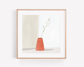 A Sunlit Room – Square Print 21cm x 21cm