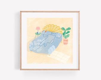 Laze – Square Print 21cm x 21cm