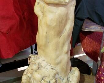 Stunning Antique Olive Root Vase
